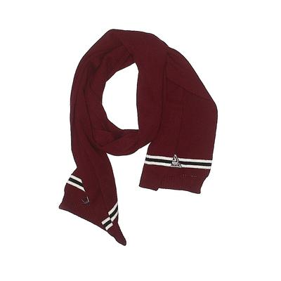 Scarf: Red Solid Accessories