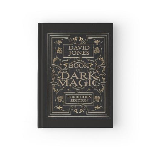 Buch der dunklen Magie - personalisierte Notizbuch