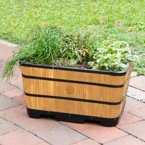 Pflanzkasten Brandy, 30x59x41 cm, natur