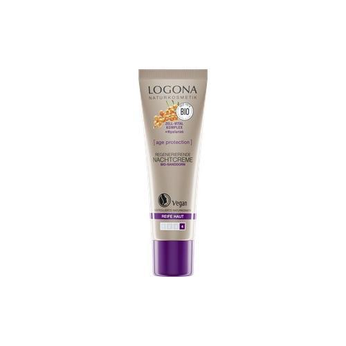Logona Gesichtspflege Nachtpflege Regenerierende Nachtcreme 30 ml