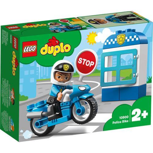 LEGO® DUPLO® Polizeimotorrad 10900, bunt