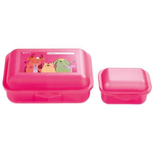 JAKO-O Brotdose Tiere, rosa