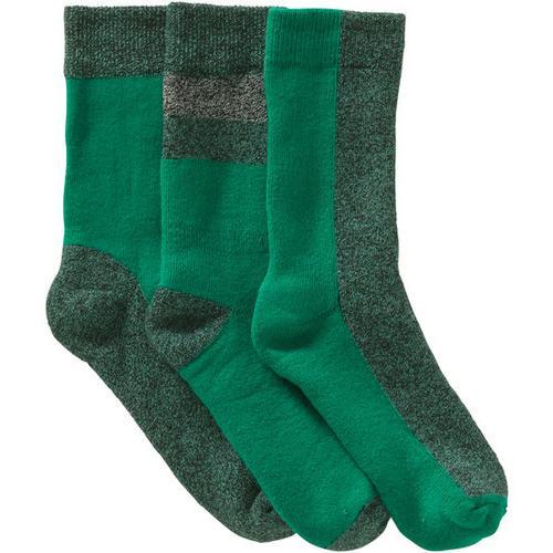 Frottee-Socken, grün, Gr. 19/22