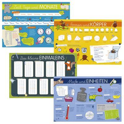 JAKO-O Kinder-Lern-Tischset, bunt