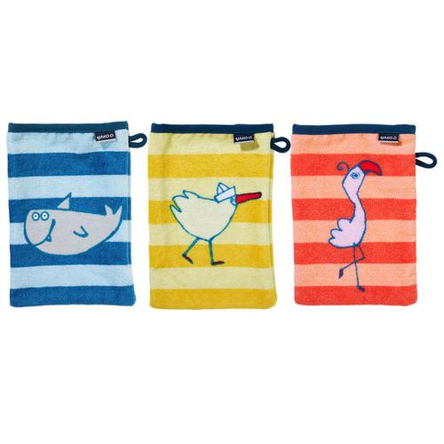 JAKO-O Waschhandschuh-Pack, bunt
