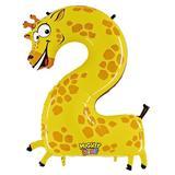 JAKO-O Folienballon Zahl, gelb