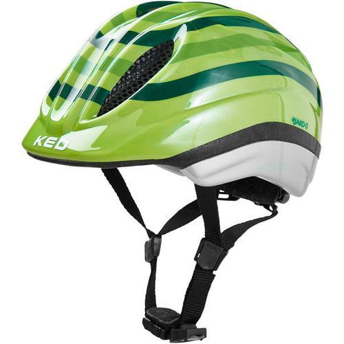 JAKO-O KED Fahrradhelm Streifen, grün, Gr. 46/51