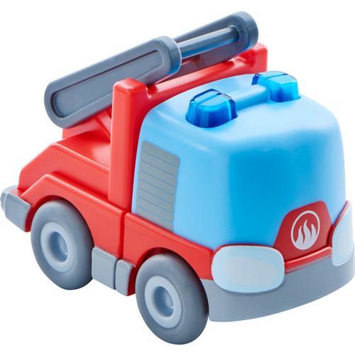 HABA Kullerbü – Feuerwehr-Leiterwagen, blau