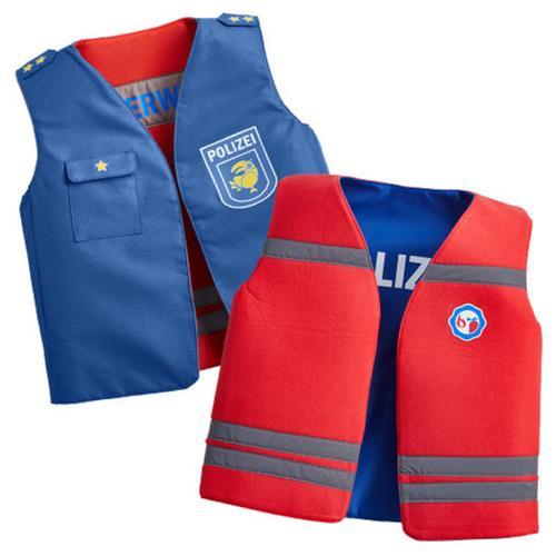 JAKO-O Wendekostüm Polizei/Feuerwehr, blau