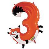 JAKO-O Folienballon Zahl, orange