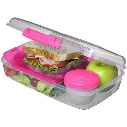 JAKO-O Lunchbox Bento Box, pink