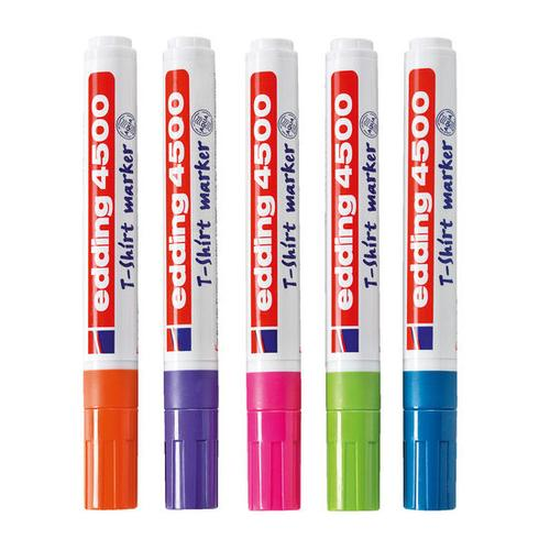 JAKO-O edding® Stoffmalstifte-Set Trend, bunt