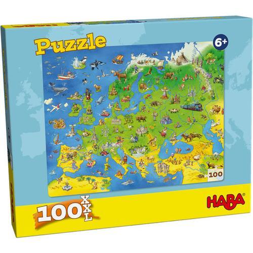 HABA Puzzle Länder Europas, bunt