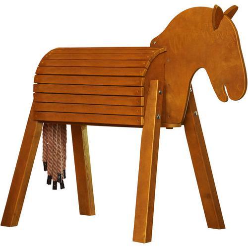JAKO-O Holzpferd lasiert, braun