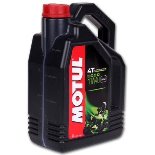 4l Motul 5000 4t 10w-40 Öl Motorradöl 10w40 Motoröl Motorrad Öl Ma2 Motul: 104056
