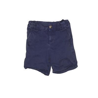Janie and Jack Khaki Shorts: Blu...