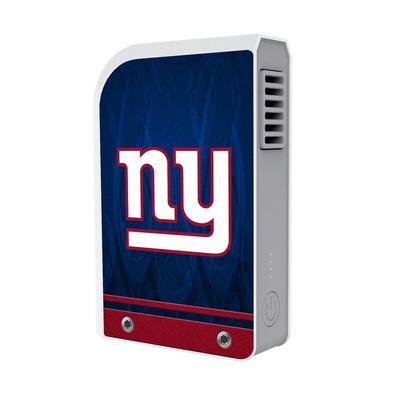 """New York Giants 6000 mAh Phone Charging Powerbank & Personal Fan"""