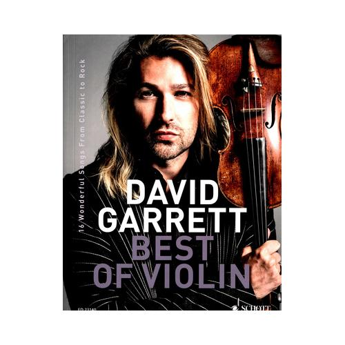 Schott David Garrett Best Of Violin