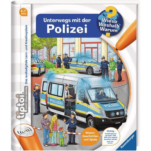 tiptoi® WWW Unterwegs mit der Polizei, bunt