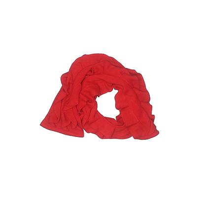 Echo Scarf: Red Solid Accessories