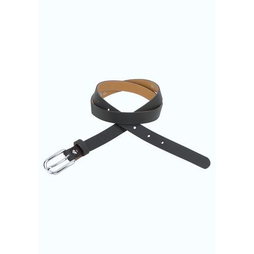 J.Jayz Ledergürtel, mit leichter Oberflächennarbung schwarz Damen Ledergürtel Gürtel Accessoires