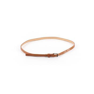 Belt: Brown Solid Accessories - Size 10