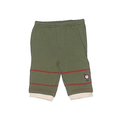 Assorted Brands Sweatpants - Elastic: Green Sporting & Activewear - Size 3-6 Month