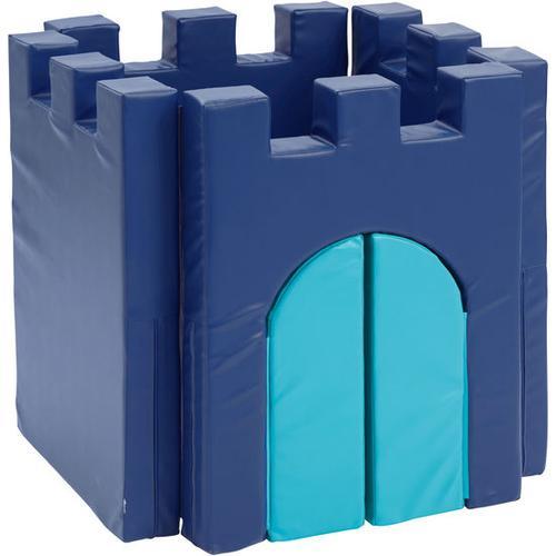 JAKO-O Schaumstoffmatte Burg, blau