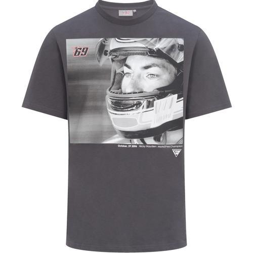 GP-Racing 69 Foto T-Shirt, schwarz-grau, Größe L