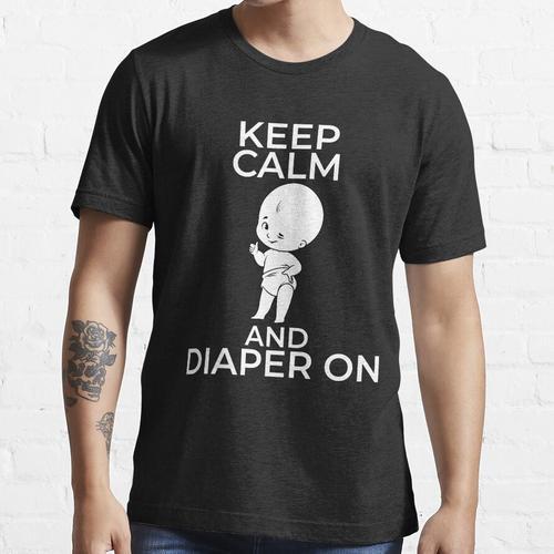 Windel auf Windelwindelentwurf Essential T-Shirt