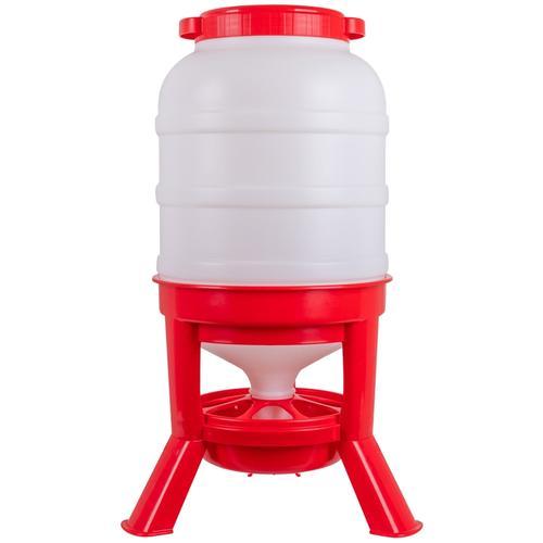Siphon Futterautomat für Geflügel - robuster Geflügelfutterautomat, 35kg