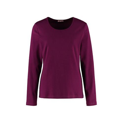 Deerberg Damen Jersey-Shirt Cora dunkelpurpur