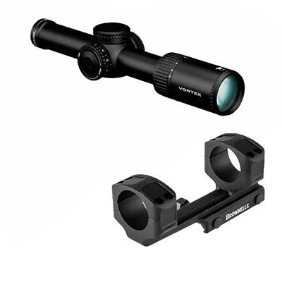 Vortex Optics Viper Pst Gen Ii 1-6x24mm Rifle Scopes - 1-6x24mm Vrm-2 Mrad With Ar Mount