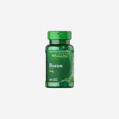 Puritan's Pride Boron 3 mg