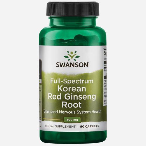 Swanson Health Full Spectrum Korean Red Ginseng 400 mg