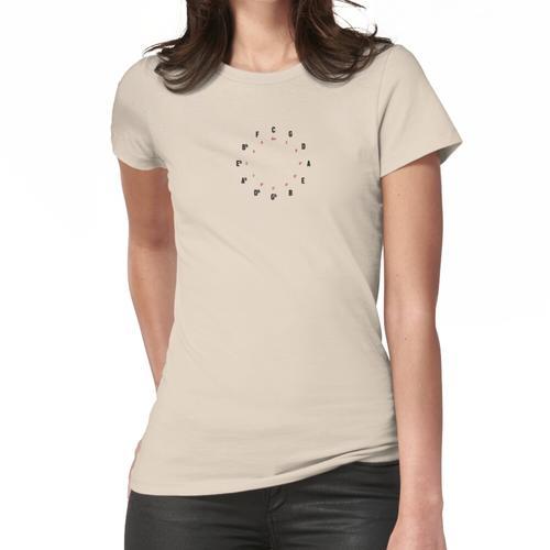 Quintenzirkel Frauen T-Shirt