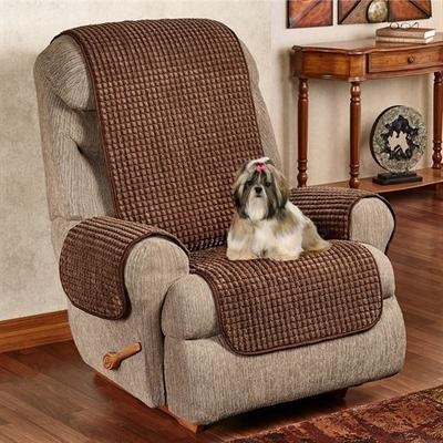 Premier Puff Furniture Protector Recliner/Wing Chair, Recliner/Wing Chair, Natural