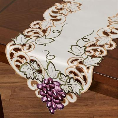 Cabernet Table Runner Light Cream, 14 x 72, Light Cream