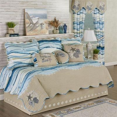 Coastal View Daybed Set Blue Daybed, Daybed, Blue