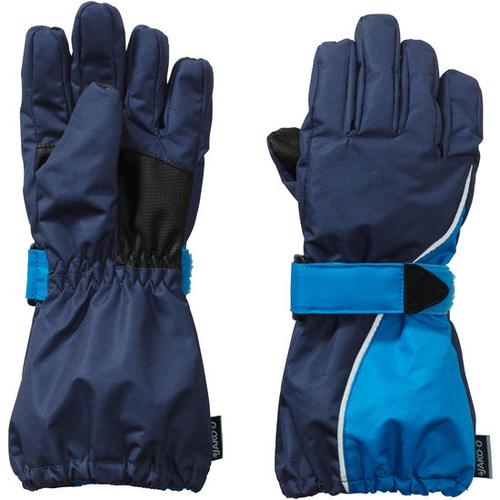 Fingerhandschuh Self-Heat, blau, Gr. 5,5