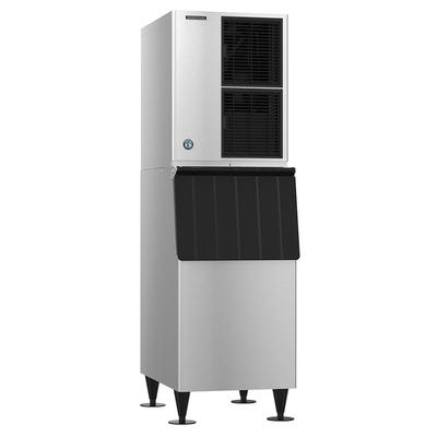 Hoshizaki KM-350MAJ/B-300PF 489 lb Crescent Cube Ice Maker w/ Bin - 300 lb Storage, Air Cooled, 115v