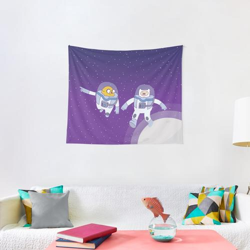 Space Adventure (Adventure Time) Wall Tapestry