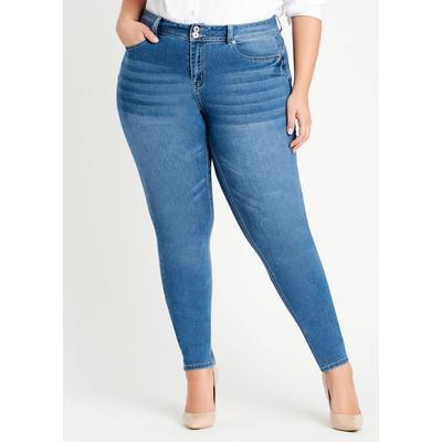 Plus Size Fearless Skinny Jean