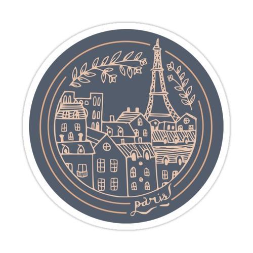 Paris! Sticker