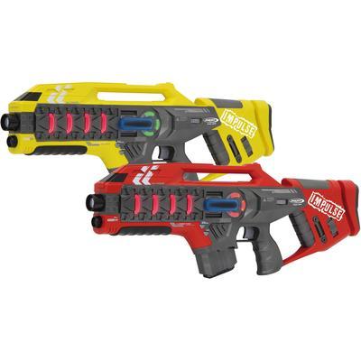 Jamara Laserpistole Impulse Laser Gun Rifle gelb/rot bunt Kinder Ab 6-8 Jahren Altersempfehlung