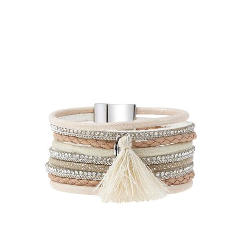 LASCANA Armband, mit Magnetverschluss rosa Damen Armketten Armbänder Schmuck Armband