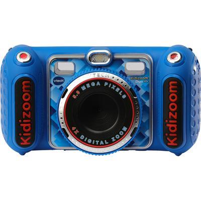 Vtech Kinderkamera Kidizoom Duo DX, blau, 5 MP, inklusive Kopfhörer blau Kinder Elektronikspielzeug
