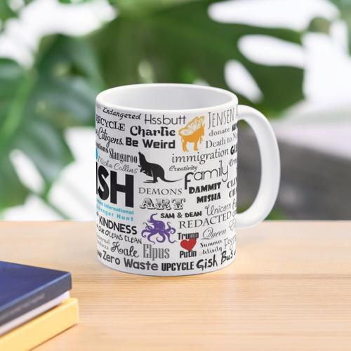 GISH-Wortspiel-Tasse Tasse