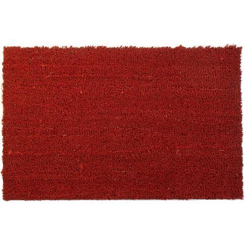 Primaflor-Ideen in Textil Fußmatte KOKOS, rechteckig, 17 mm Höhe, Schmutzfangmatte, Kokosmatte, In- und Outdoor geeignet rot Schmutzfangläufer Läufer Bettumrandungen Teppiche