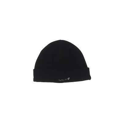Solo Beanie Hat: Black Accessories